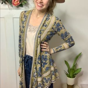 Anthropologie Guinevere Long Cardigan Sweater